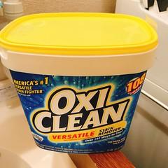 オキシクリーンで上履きをつけ置き洗いしてみる #OXICLEAN