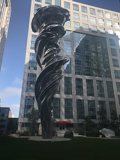 Trinity Place sculpture garden
