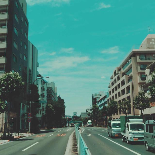 Mejiro-dori street
