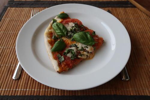 Pizza Margherita (Viertel)