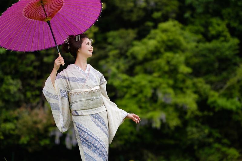 Flavor of Japanese umbrella ( Cocoro Kusano )