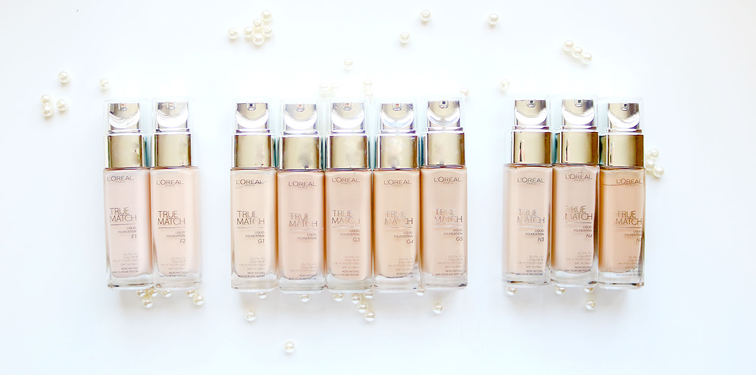 2 Loreal True Match Natural Finish Foundation Review and Swatches - She Sings Beauty by Gen-zel