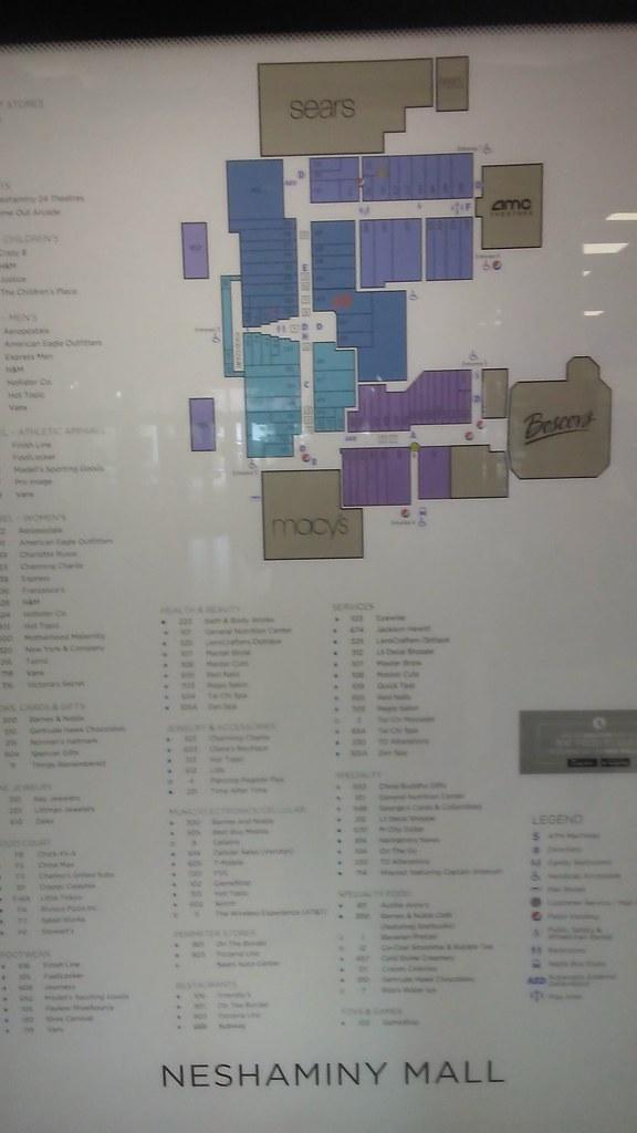 Map of Neshaminy Mall | Map of Neshaminy Mall. Map still ...