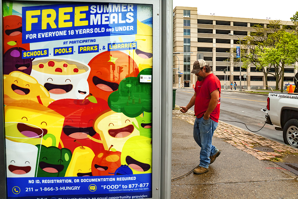 FREE SUMMER MEALS--Buffalo