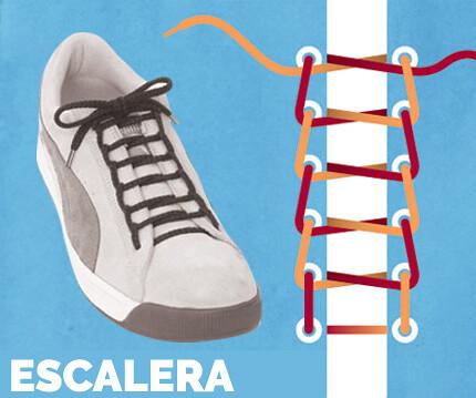 escalera-amarrar-tenis