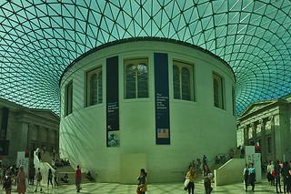 London - British Museum lobby