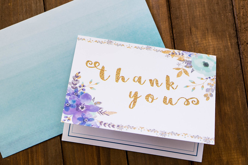 Thank You Card | cookingalamel.com