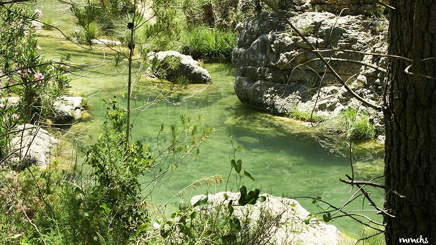 baño en el rio Fraile