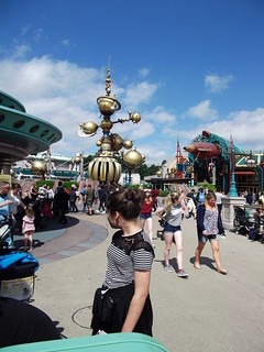 Amber at Disneyland Paris