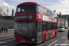 Wrightbus NRM NBFL - LTZ 1305 - LT305 - Marylebone 453 - Go Ahead London - London 2017 - Steven Gray - IMG_8420