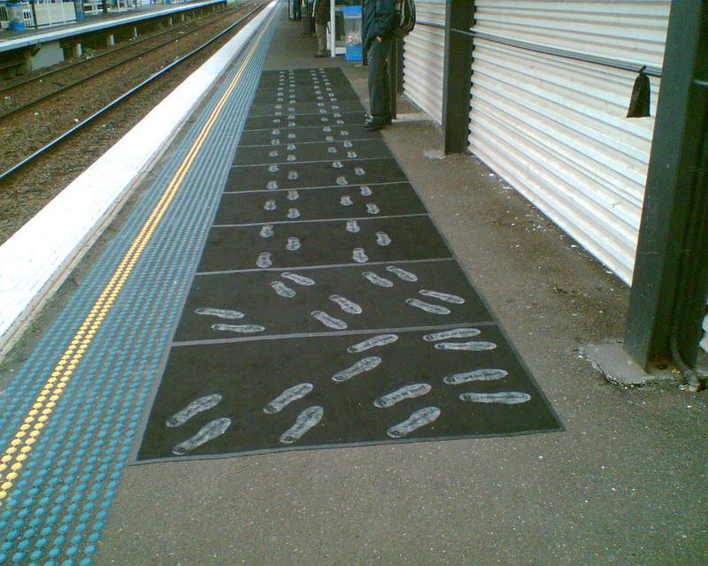 Promotion, Richmond station, June 2007