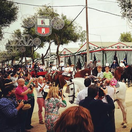 El concurso de paseo de caballos concede 25 distinciones en las Feria de Mayo 2017