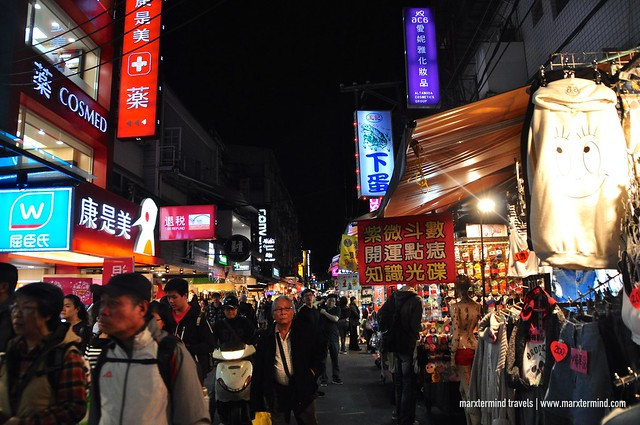 Shilin Night Market in Taipei