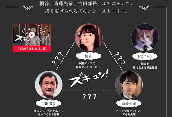 桐谷美玲×斎藤工 ワイモバイル