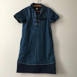Lengethening a denim dress | EvinOK.com