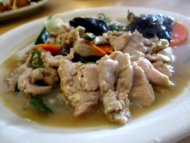 Home Cook pork with salted fish