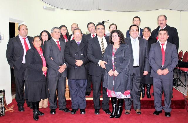 Visita Pastores Superintendentes a IMPCH Guarilihue