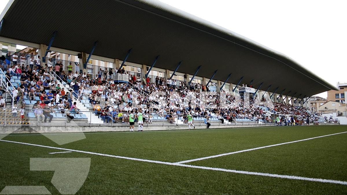 CDOlimpicdeXativa-UnionistasSalamanca 5-0 elim ascenso 2B vuelta (Ra)