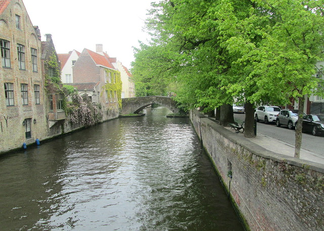 Bridge and Canal, Bruges