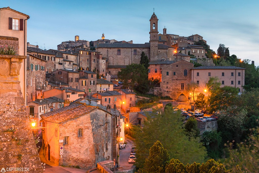 Evening - Montepulciano