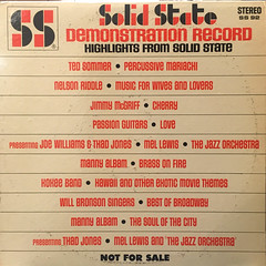 V.A.:HIGHLIGHTS FROM SOLID STATE(JACKET A)