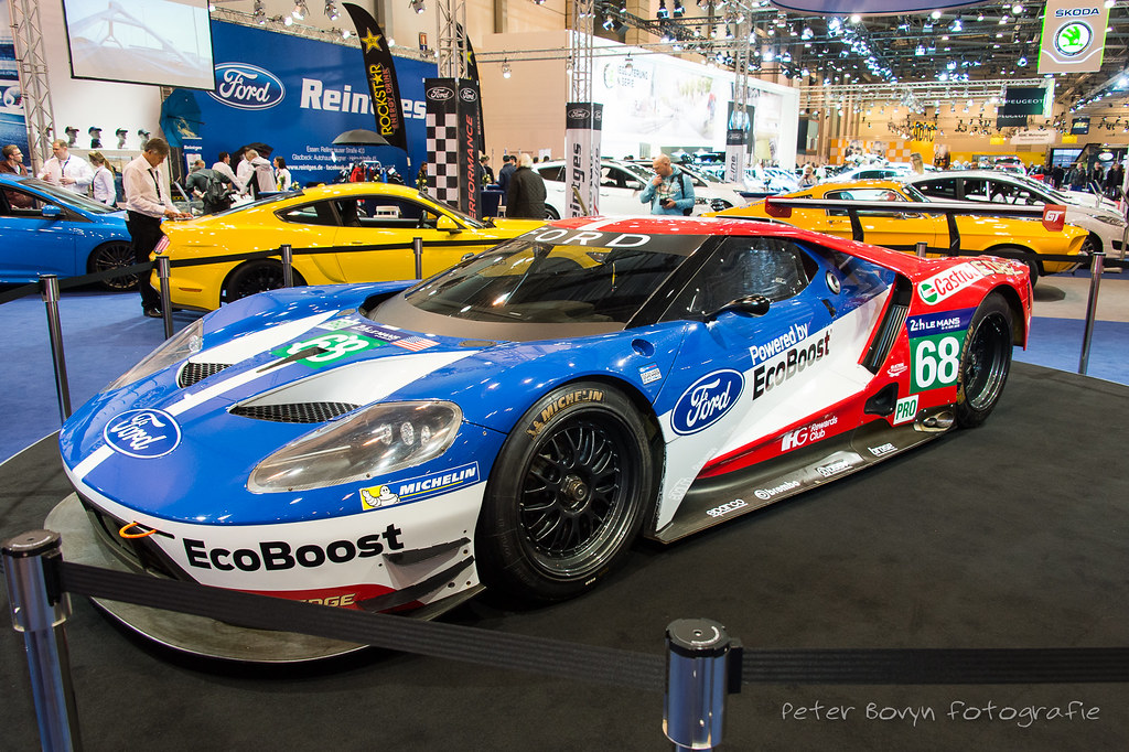 Ford Gt Lm Gte  By Perico