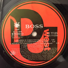 BOSS:PROGRESS OF ELIMINATION(LABEL SIDE-B)
