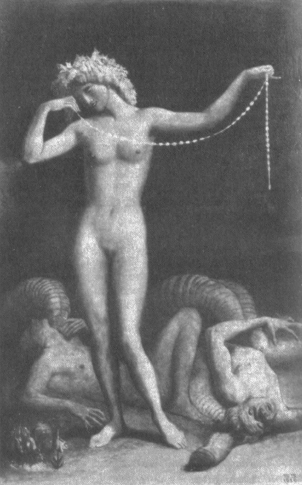 Sascha Schneider - Triumph of the Woman, 1920