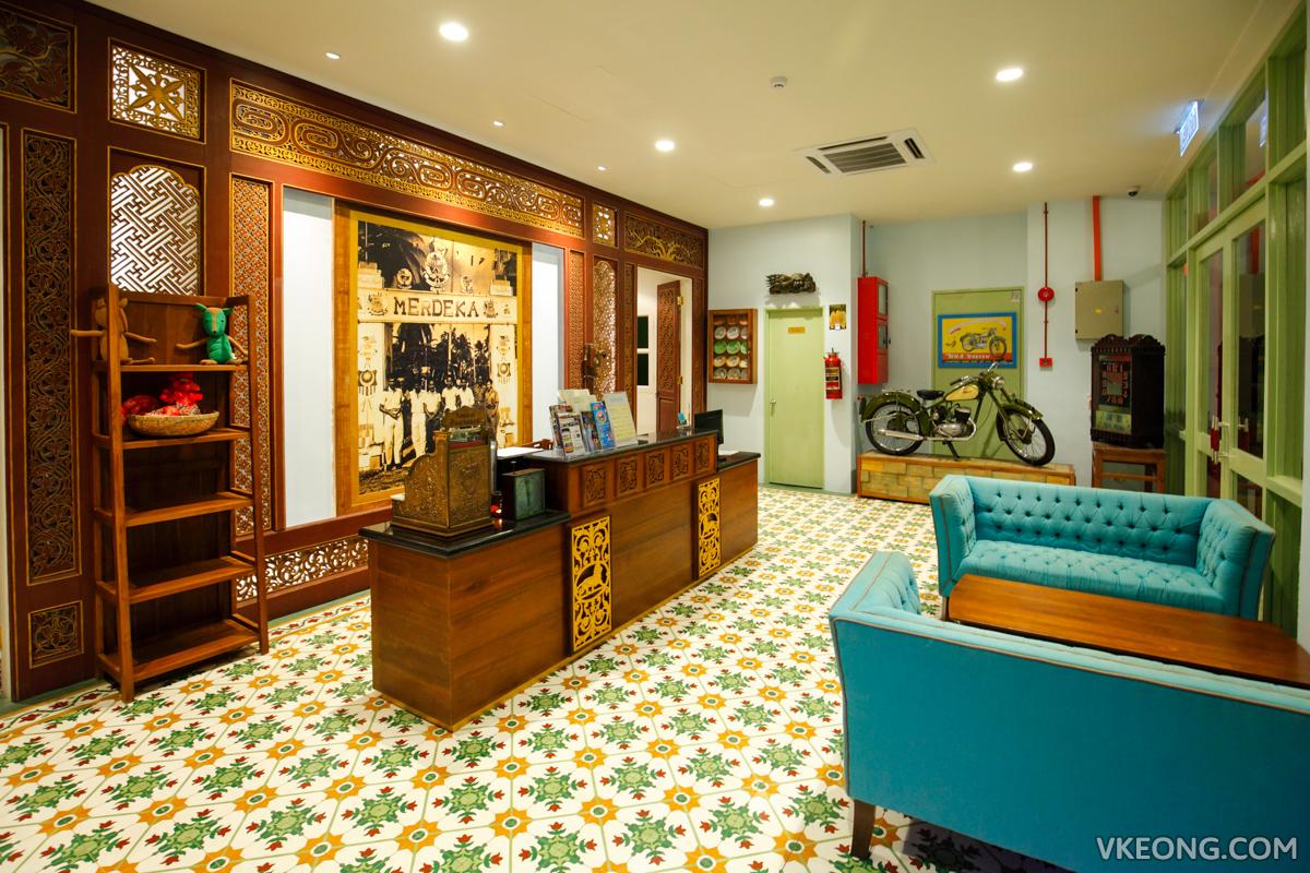 Kapitan Kongsi Hotel Melaka Reception