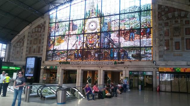 Bilbao-Abando Railway Station