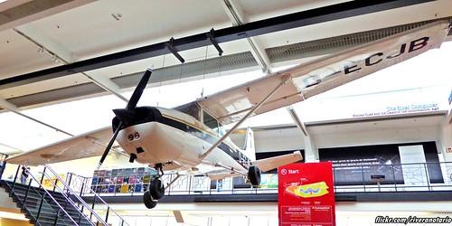 Mathias Rust plane - Deutsches Technikmuseum (Berlin 2015)