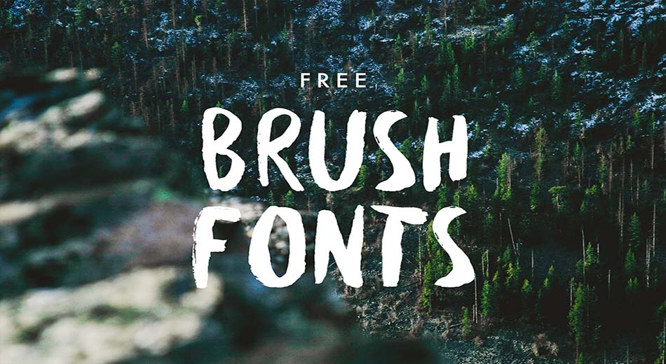 Best Free Brush Fonts for Designers