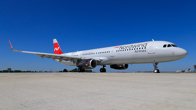 Nordwind Airlines Airbus A321-2 VQ-BRS