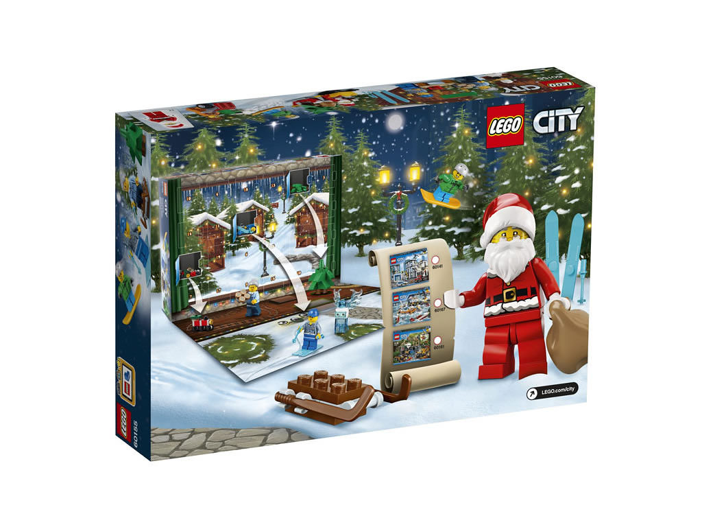 LEGO City 60155 - Advent Calendar 2017
