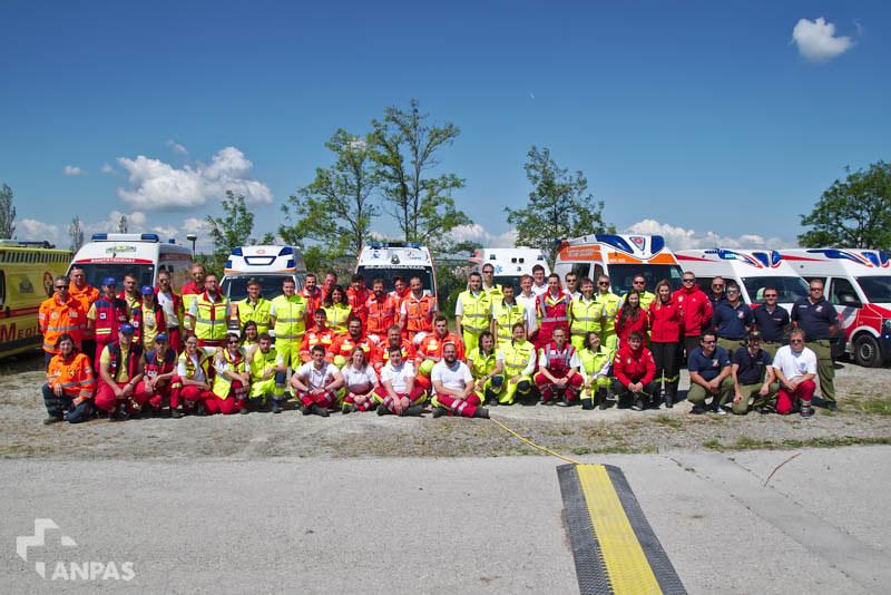 Anpas al Rescue Camp in Austria