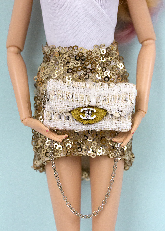 Barbie purse Chanel