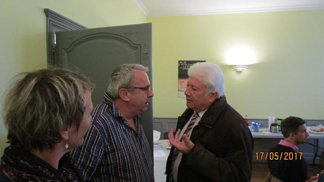 FCPE Neufchâteau Denis GILLET et Christian FRANCQUEVILLE, député des Vosges