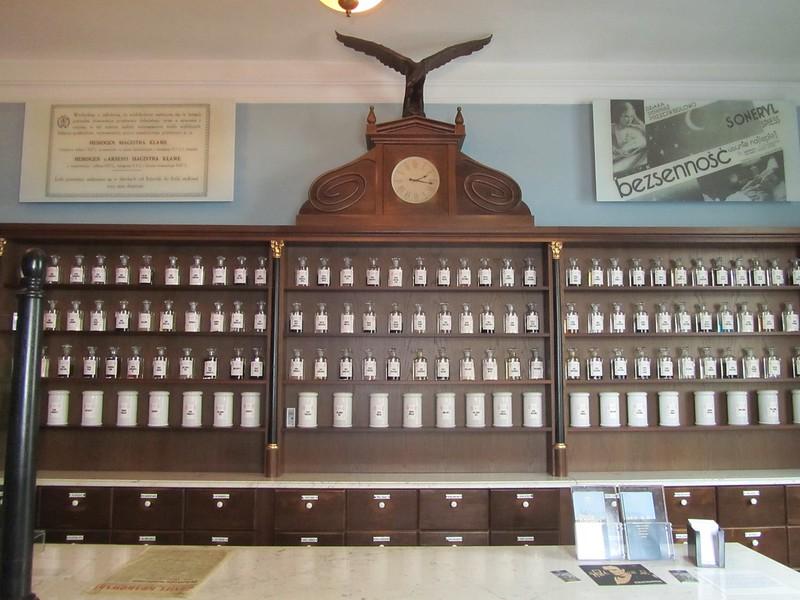 La farmacia del águila en Cracovia