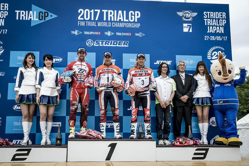 Mundial Trial, GP Japón 2017. Día 1