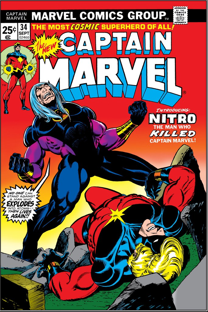 Captain Marvel 34 Nitro