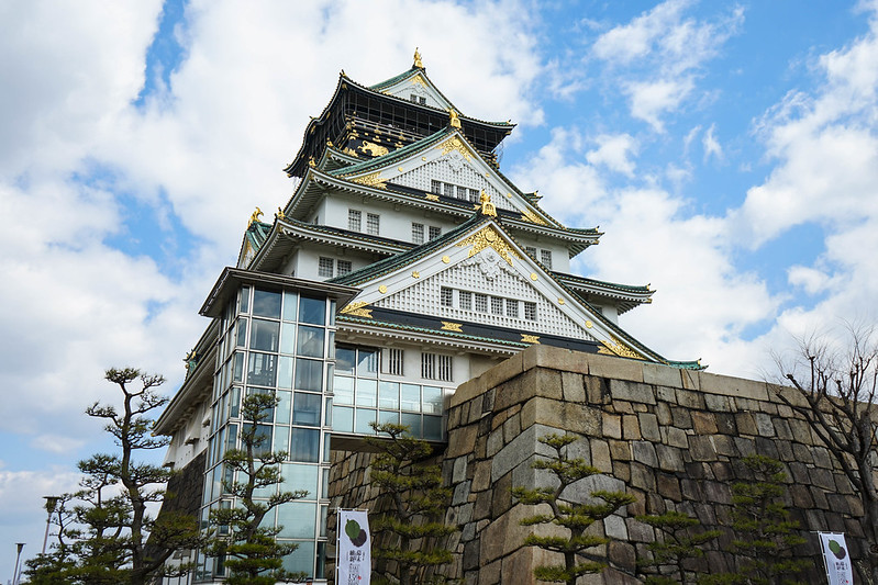 [日本]大阪城-1
