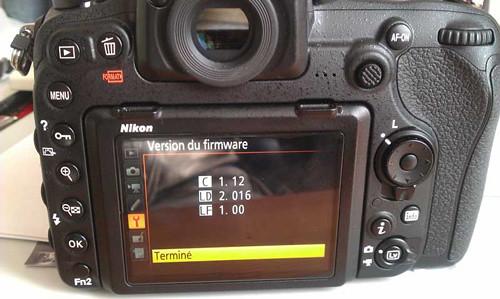 D500 Firmware 2 016