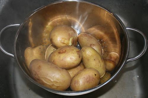 31 - Kartoffeln abtropfen & abkühlen lassen / Drain & let cool down potatoes