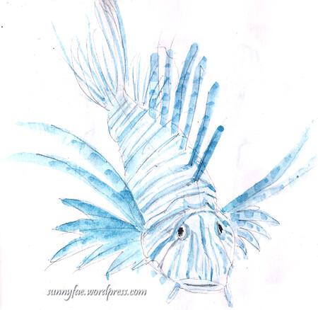 lionfish shetch 2