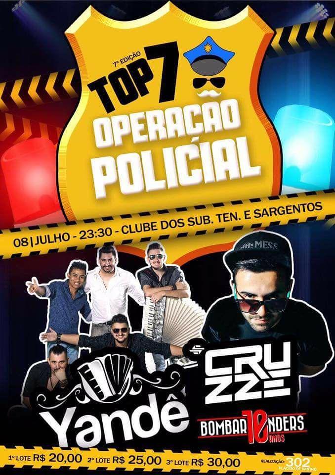 Top 7 Operação Policial