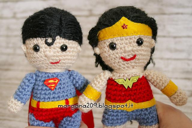 Superman&WonderwomanAmigurumi_13w