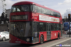 Wrightbus NRM NBFL - LTZ 1631 - LT631 - Whitehall Horse Guards 159 - Abellio - London 2017 - Steven Gray - IMG_8387