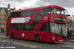 Wrightbus NRM NBFL - LTZ 1129 - LT129 - Elephant & Castle 148 - RATP London United - London 2017 - Steven Gray - IMG_8508