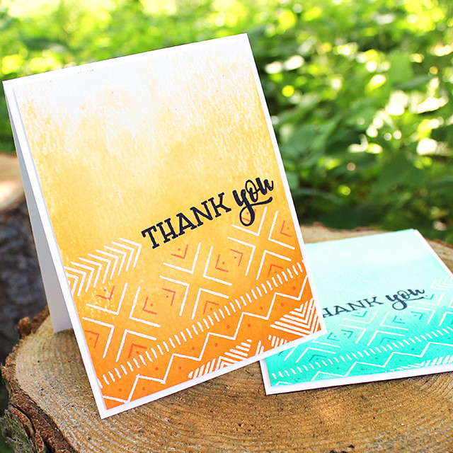 Textile Thank You Cards 3