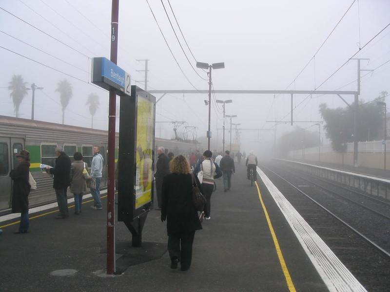 Bentleigh Station, June 2007